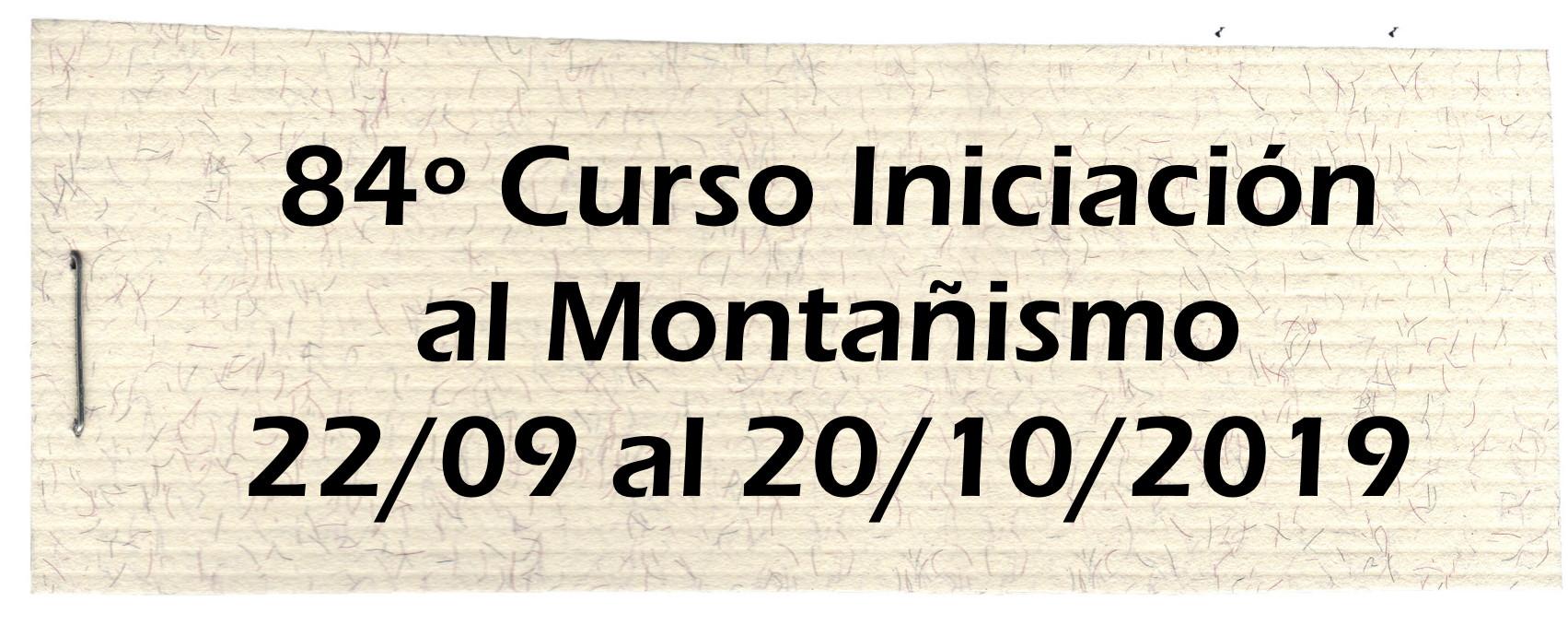 84º Curso Montañismo