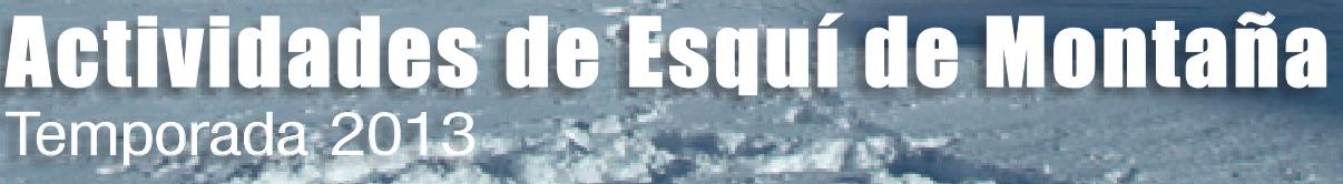 Banner Esquí Montaña Web