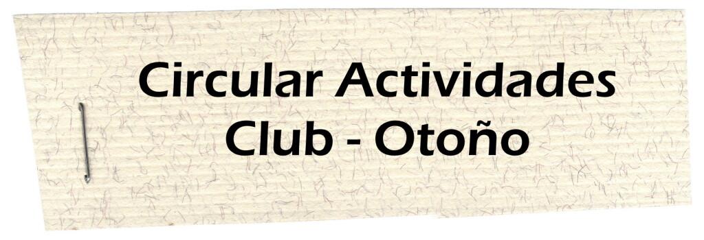 Circular Actividades Club