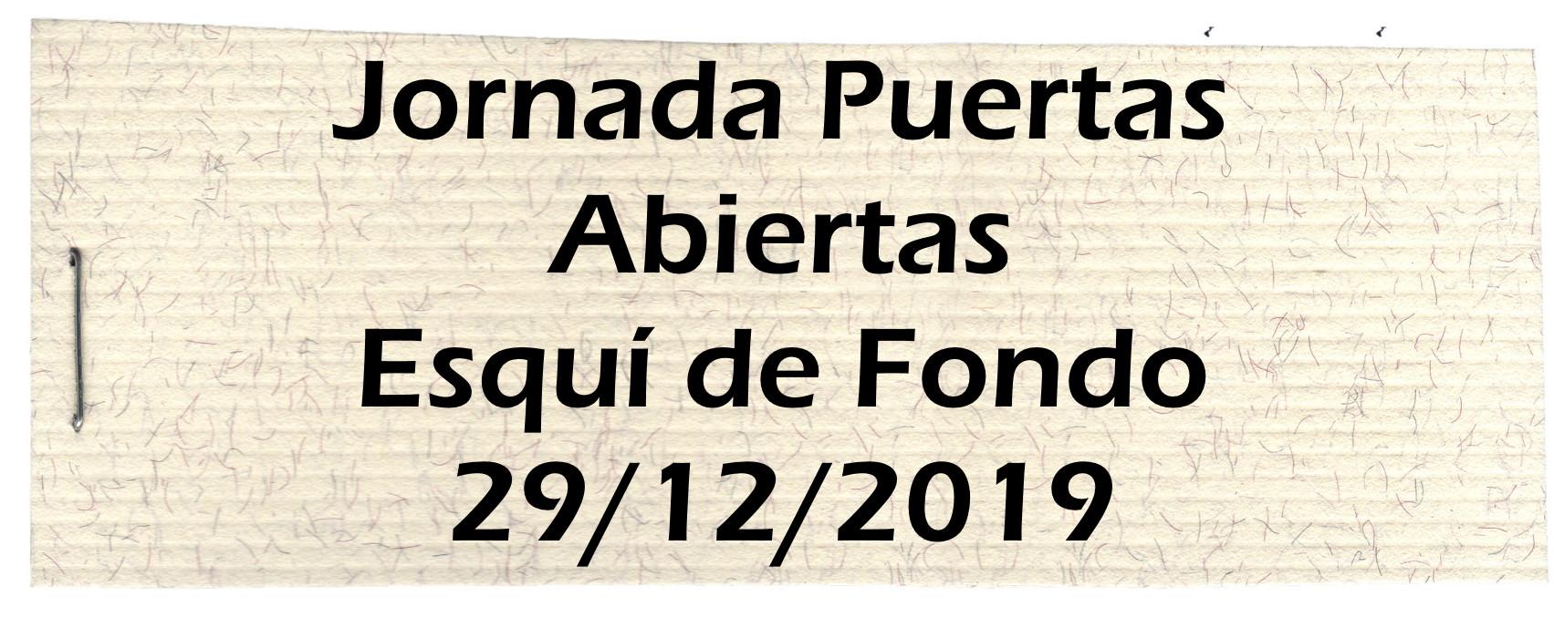 Puertas Abiertas Fondo 2019