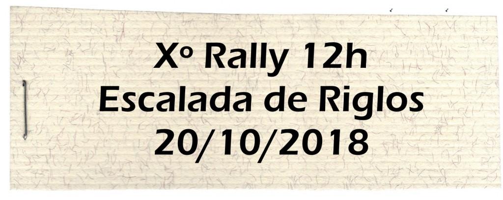 Rally Riglos 2018