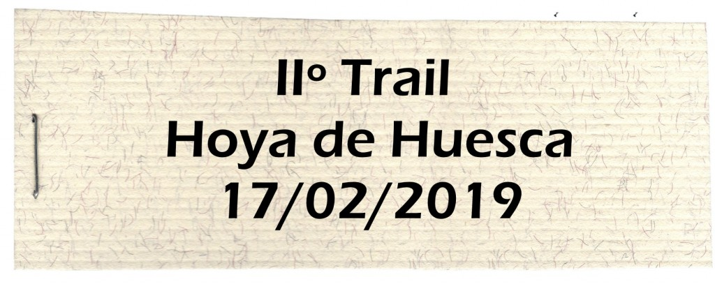 Trail Hoya Huesca