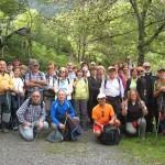 Parte del grupo después del recorrido