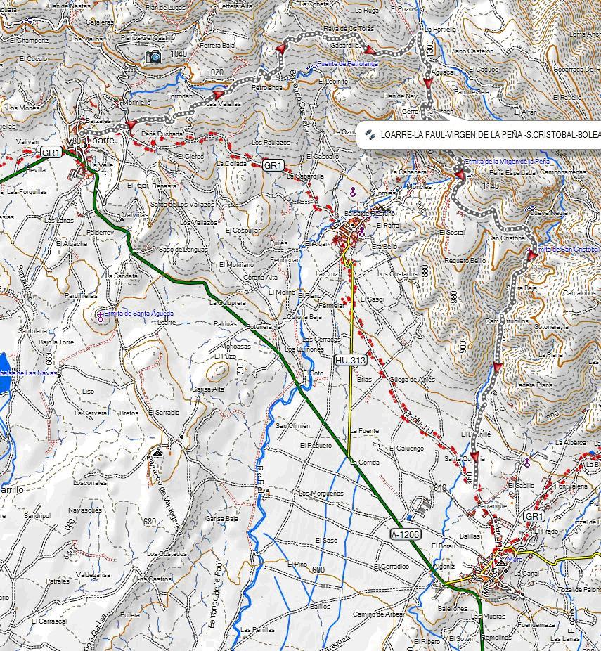 Mapa TAA