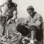 Con Ángel Lorés en la cima del Buzón (Riglos) - Año 1954 [1600x1200]