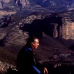 Manuel Estaún en la cima de la Sierra Vallés - Años 70 [1600x1200]