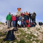 Foto de Grupo en la cima del Tozal de Guara