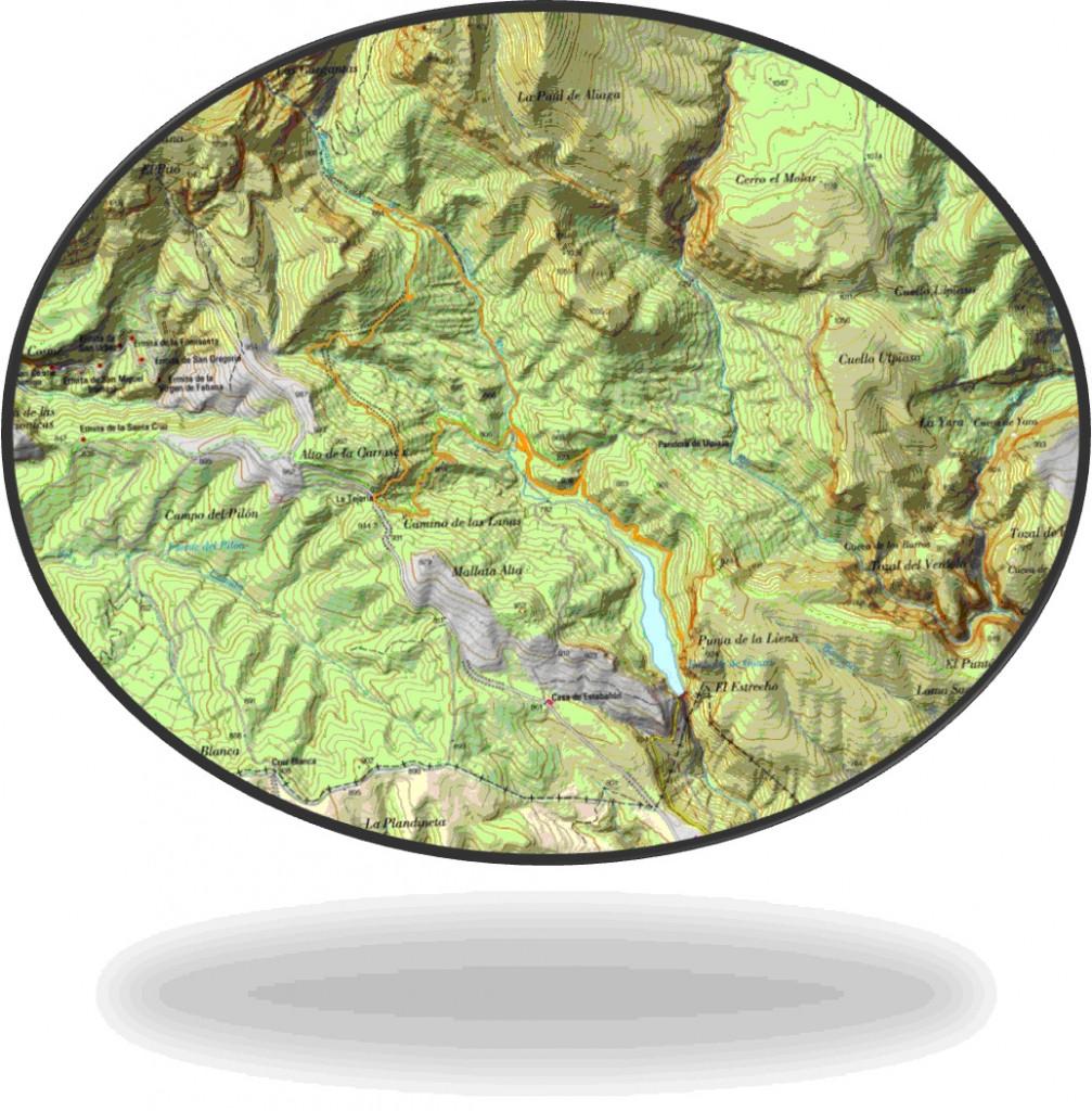 Mapa Peque Guara Enero 2015
