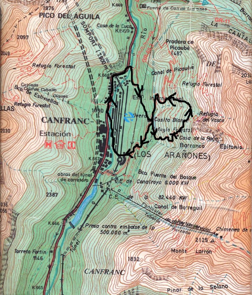 Mapa Rutas Junio