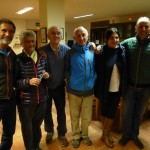 Novato, la mujer de Anglada, Anglada, Ursi, Neila Abajo y Joan Quintana