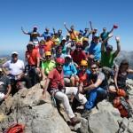 en la cima del Midi D'Ossau