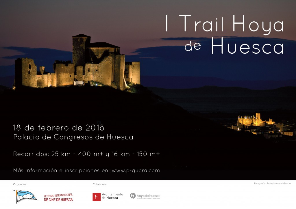 Cartel Trail Hoya Huesca 2018