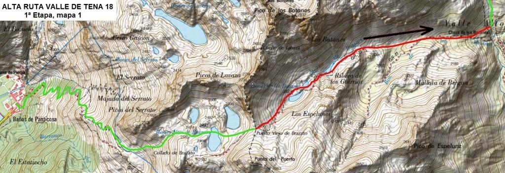 Etapa 1, mapa 1