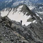 2-a plena cresta entre los dos valles