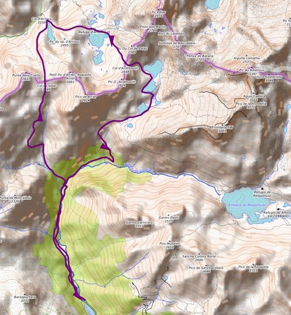 Mapa Reecorrido Corto