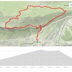 Mapa Perfil Ruta Corta