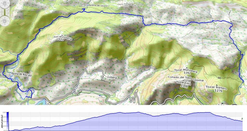 Mapa Ruta Corta