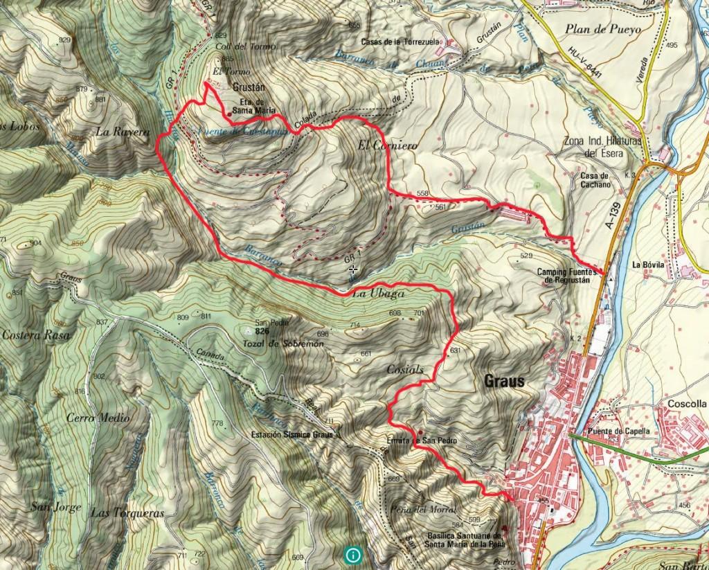 Mapa Rutas Graus