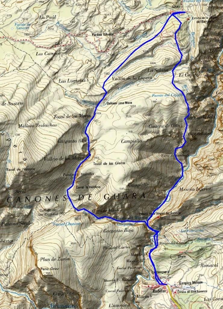 Mapa-Corta