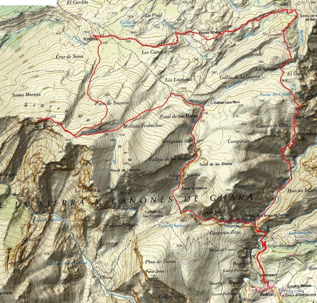 Mapa - Larga