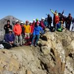 004 cima del Soum de Ramond pico de Monte Perdido al fondo Lorenzo Ortas