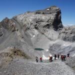 009 descenso de Monte Perdido, pico cilindro Lorenzo Ortas