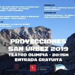 Cartel San Urbez 2019