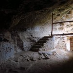 Interior de la ermita de San Cristóbal. Foto Marcos Bielsa
