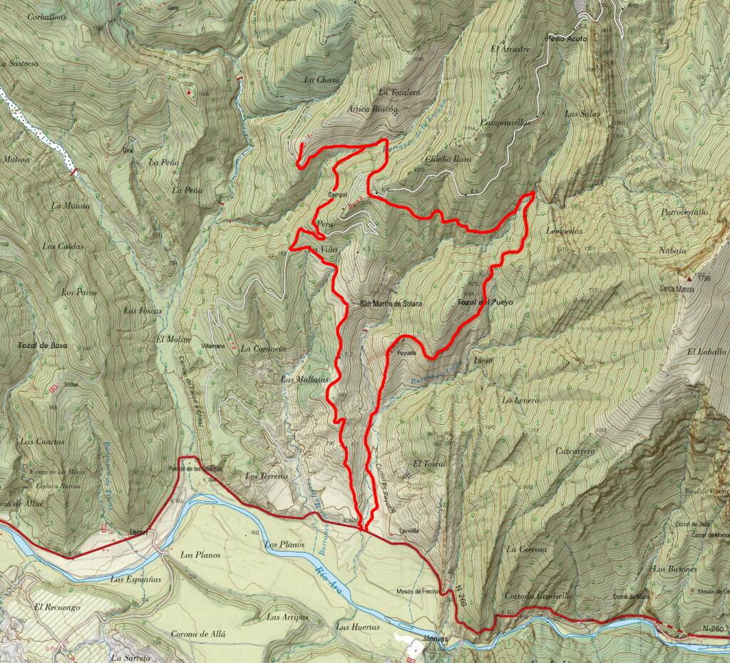 Mapa TAA 449
