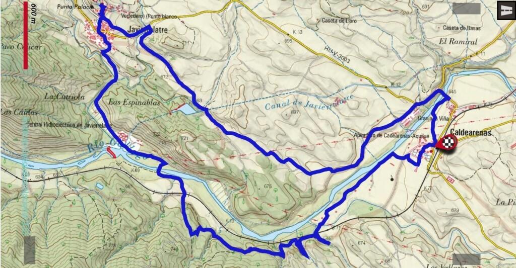Senda Izarbe track